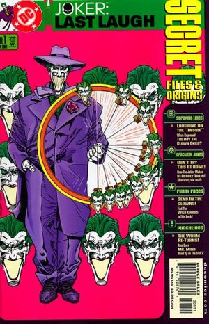 Cover for Joker: Last Laugh #1