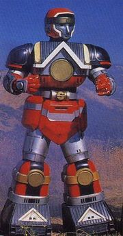 MMPR Red Shoguzord