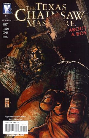 Cover for Texas Chainsaw Massacre #1