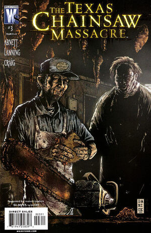 Cover for Texas Chainsaw Massacre #3