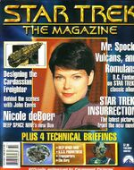 Star Trek The Magazine test issue 2 cover