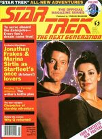 TNG Official Magazine issue 3 cover