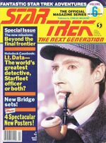 TNG Official Magazine issue 6 cover