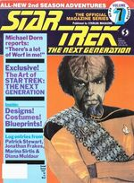 TNG Official Magazine issue 7 cover
