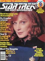 TNG Official Magazine issue 9 cover