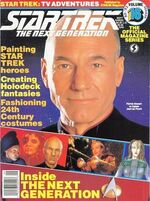 TNG Official Magazine issue 16 cover