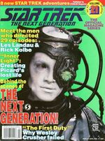 TNG Official Magazine issue 21 cover