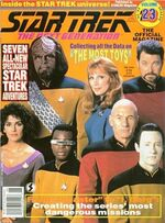 TNG Official Magazine issue 23 cover