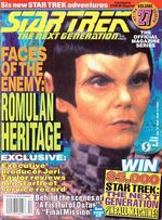 TNG Official Magazine issue 27 cover