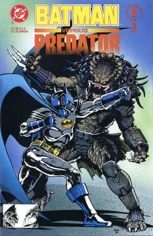Cover for Batman versus Predator #3
