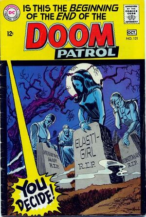 Cover for Doom Patrol #121