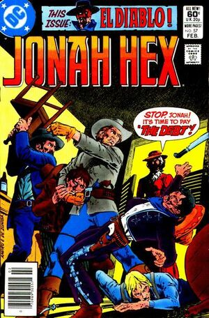 Cover for Jonah Hex #57