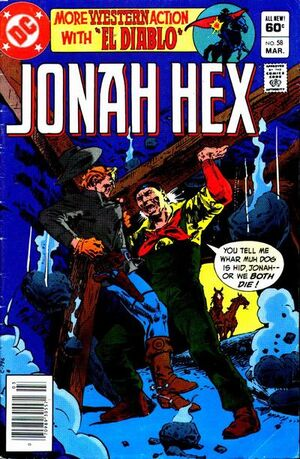 Cover for Jonah Hex #58