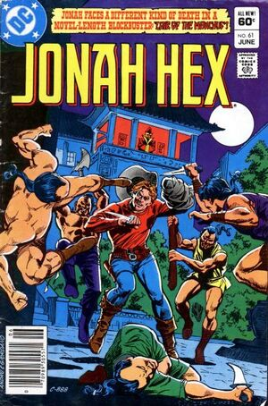 Cover for Jonah Hex #61