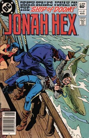 Cover for Jonah Hex #63