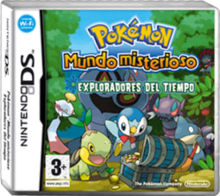 Cartula Pokmon Mundo Misterioso Exploradores del Tiempo