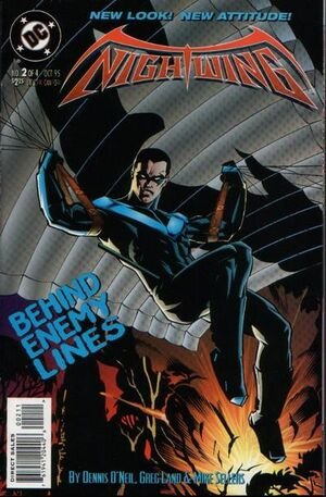 Cover for Nightwing #2