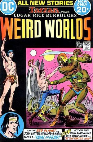 Cover for Weird Worlds #1
