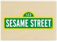 Stampabilities sesame street sign