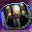 Dark Amber Ring Icon