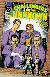 Challengers of the Unknown Vol 2 1