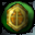 Gold Pea Icon