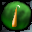 Orange Pea Icon