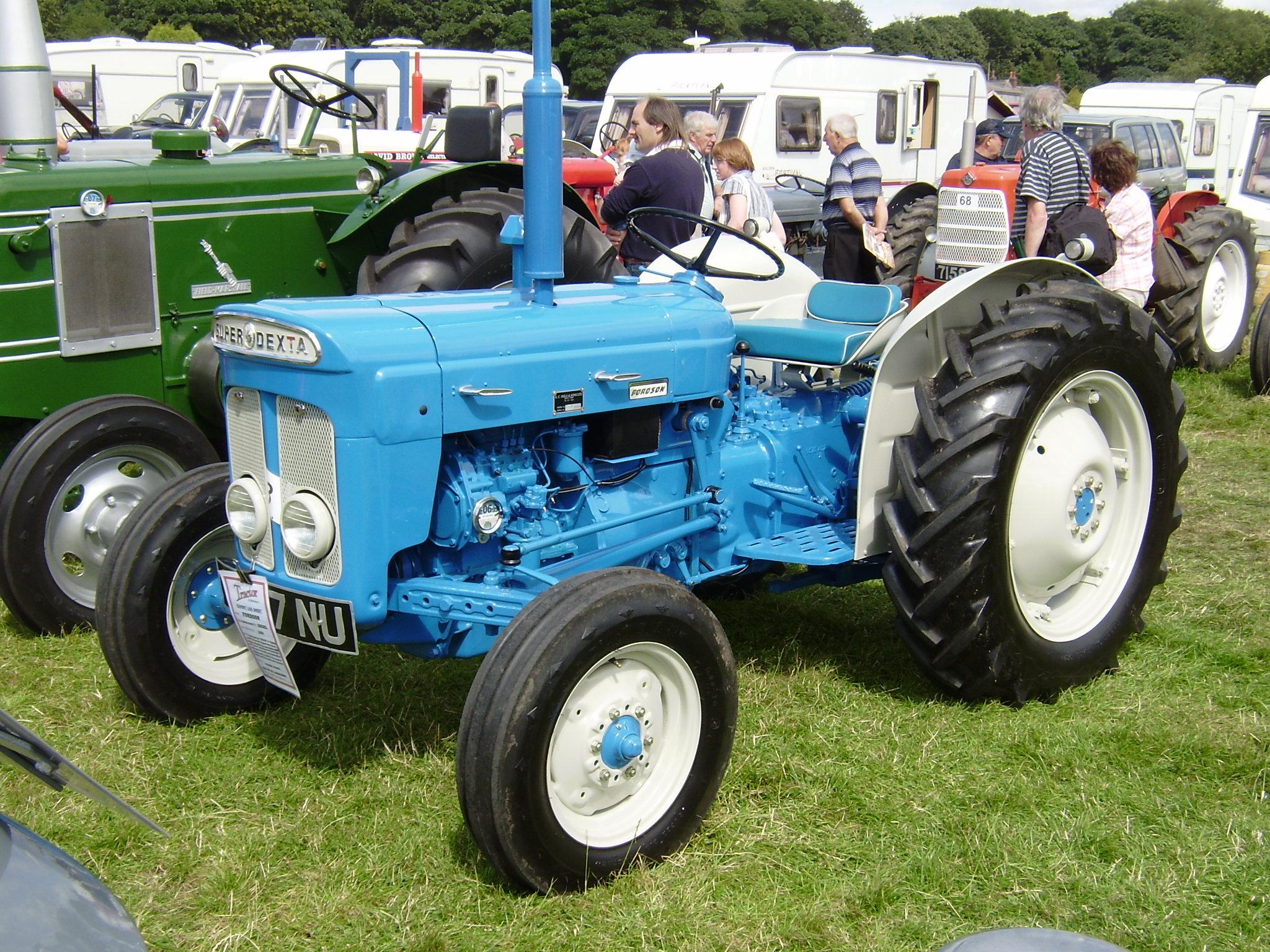 Dexta Tractor Parts : Tracteur ford dexta special