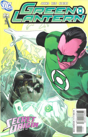 Cover for Green Lantern #32
