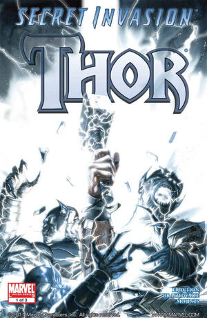 Secret Invasion Thor Vol 1 1