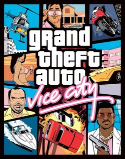 GTA: Vice City Cover