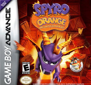 Spyro Orange Coverart