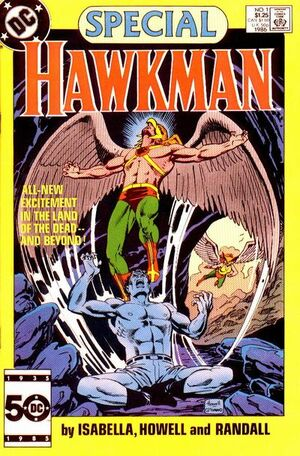 Cover for Hawkman Special #1