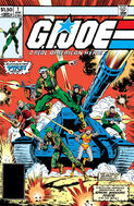 G.I. Joe A Real American Hero Vol 1 1