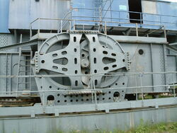 Walking Dragline mechanism