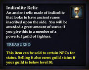 Indicolite Relic