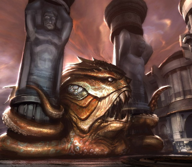 Image - Kraken 3.jpg - God of War Wiki - Ascension, Ghost ...