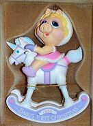 Enesco1984PiggyFirstXmasOrn