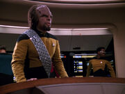 Worf detects borg vessel - evolution