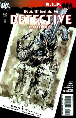 Cover for Detective Comics #847