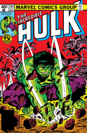 Incredible Hulk Vol 1 245