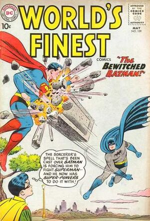 Cover for World's Finest #109