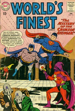 Cover for World's Finest #131