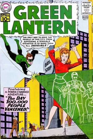 Cover for Green Lantern #7