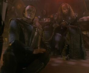 Garak and Worf, Shattered Mirror