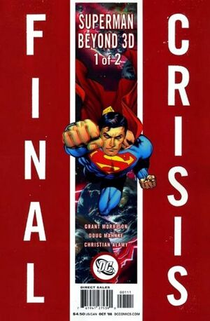 Cover for Final Crisis: Superman Beyond #1