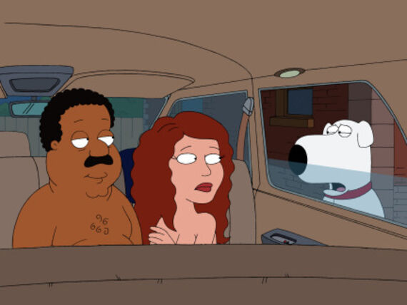 Family Guy Season 7 Episode 1 Love Blactually