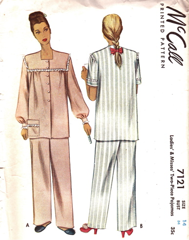 McCalls Sewing Pattern Vintage Fashion McCalls Sewing Patterns