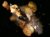USS Valiant destroyed