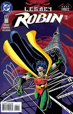 Cover for Robin #32